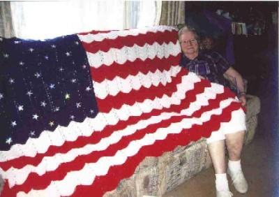 Knitting Pattern For American Flag Afghan : Uncategorized Carolina FiberFest